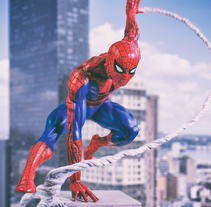 The Amazing Spider-Man. A Photograph project by David Fuentes         - 25.04.2018
